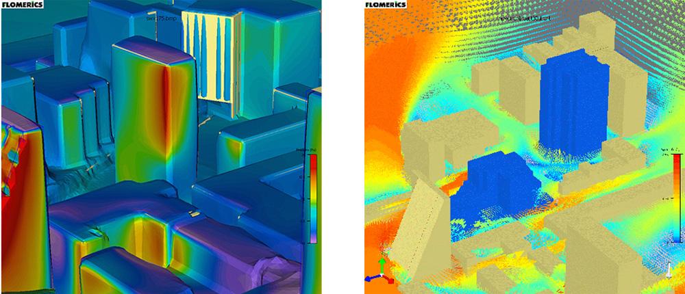 Site airflow patterns Ecodynamis
