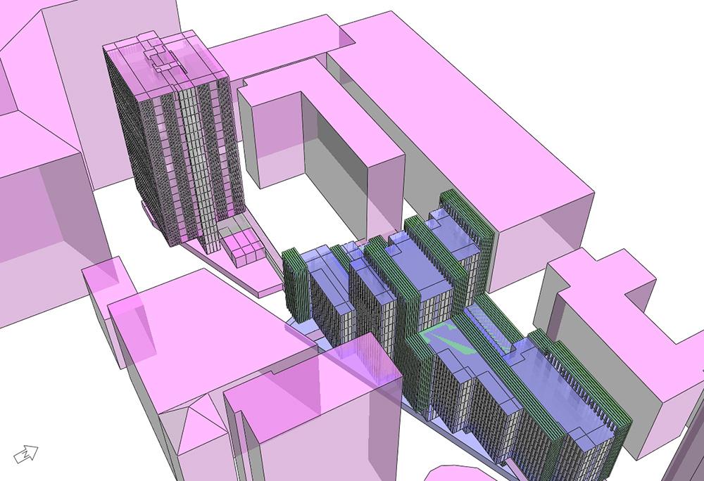 London Wall Place IES Model Ecodynamis