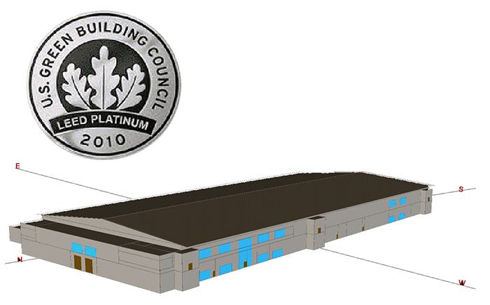Data Center LEED Platinum PRM Ecodynamis